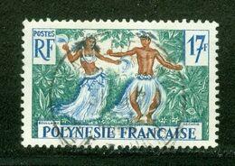 Danse / Dance; Polynésie Française / French Polynesia; Scott # 194; Usagé (3349) - Polinesia Francese