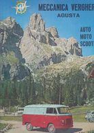 (pagine-pages)PUBBLICITA' MV AGUSTA  Tempo1957. - Autres