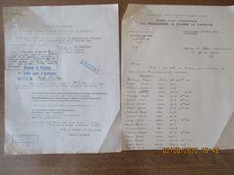 COMITE LOCAL D'ASSISTANCE AUX PRISONNIERS DE GUERRE EN CAPTIVITE LE 21 AOÛT 1944 LISTE NOMS PRENOMS STALAG KOMMANDO MATR - Dokumente