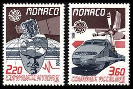 1988Monaco1859-1860Europa CEPT / Satellite5,00 € - 1988