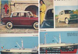 (pagine-pages)PUBBLICITA' FIAT  Tempo1957. - Autres