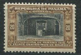 PANAMA - N° 116  * - EXPOSITION 1915 - B - Panama
