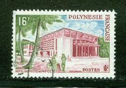 La Poste à Papetee; Polynésie Française / French Polynesia; Scott # 195; Usagé (3350) - Polinesia Francese
