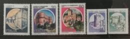 Italie 1981 / Yvert N°1498-1502 / ** - 1981-90: Neufs