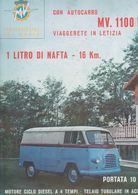 (pagine-pages)PUBBLICITA' MV AGUSTA  Tempo1958. - Autres