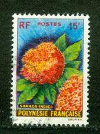 Saraca Indica; Polynésie Française / French Polynesia; Scott # 196; Usagé (3351) - Polinesia Francese