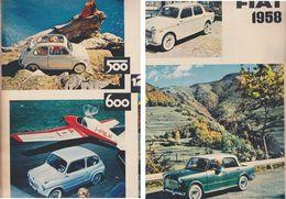 (pagine-pages)PUBBLICITA' FIAT  Tempo1958. - Autres