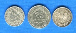 All  3  Pieces - [ 2] 1871-1918 : Duitse Rijk