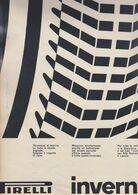 (pagine-pages)PUBBLICITA' PIRELLI  Tempo1958. - Autres