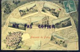 Souvenir De Gorcy Carte Toilee - France