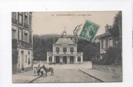 CPA  - Montmorency  - La Gare , Face - Montmorency