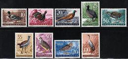 1958 Yugoslavia Game Birds Set (** / MNH / UMM) - Oiseaux