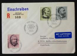 Switzerland, Registered Circulated Cover, « Intl. Philatelic Exhibition », « Centenary » « U.P.U.», 1974 - Marcofilia