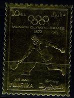 FUJEIRA  1972 SUMMER OLYMPICS GAMES MUNICH 72 GOLD STAMP MI No 1280 MNH VF!! - Summer 1972: Munich