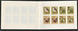 1978 Yugoslavia New Year: Rock Partridge, Capercaillie, Alder, Oak, Red Deer, Maple Stitched Booklet (** / MNH / UMM) - Gallinacées & Faisans