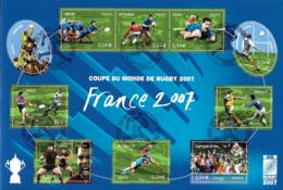 France 2007 BF - Yvert Et Tellier Nr. BF 110 - Michel Nr. Klbg. 4277/4286  Oblitéré 1er Jour - Blocs & Feuillets