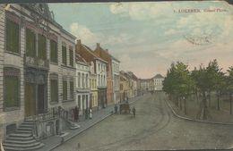 Oude Postkaart. Lokeren. Grand Place. 1912 - Lokeren
