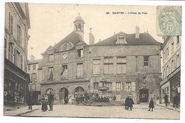 MANTES - L'Hôtel De Ville - France
