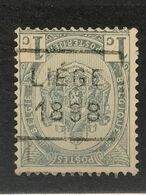 Preo 151D - Liege 1898 - Handrolstempel - Roller Precancel - Préo à Roulette [S] - Precancels