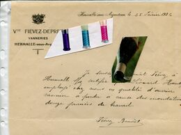 HERMALLE SOUS ARGENTEAU / VANNERIE / - Historische Dokumente