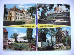 Yugoslavia - Croatia - Vukovar - Multiview - Posted 1970s - Jugoslawien