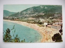 Yugoslavia/Montenegro: Becici Kod Budve - Budva, View On The Beach - Posted 1966 - Jugoslawien