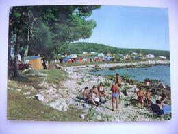 Yugoslavia - Croatia - Porec - Autocamping By The See - Posted 1974 - Jugoslawien