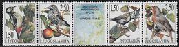 1997 Yugoslavia Protected Birds Set (** / MNH / UMM) - Passereaux