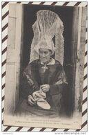 4AF1444 COIFFURE ANCIENNE DES ENVIRONS DE BAYEUX DITE LA BOURGOGNE 2 SCANS - Costumes