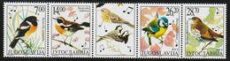 2002 Yugoslavia Songbirds Set (** / MNH / UMM) - Passereaux