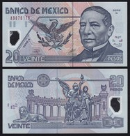 MEXIKO - MEXICO - 20 Peso 2001 Serie N Pick 116b  UNC (1)   (21241 - Bankbiljetten