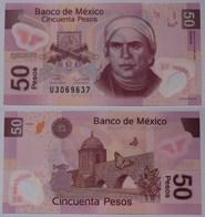 MEXIKO - MEXICO - 50 Peso 2009 Serie M Pick 123f  UNC (1) Jahrgang Selten (21244 - Bankbiljetten