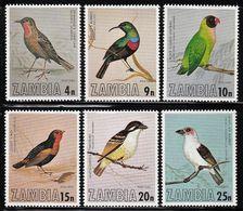 1977 Zambia Birds Set (** / MNH / UMM) - Passereaux