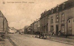 Saint Léger (environs D'arlon Grand'rue  Circulé  En 1928 - Saint-Léger