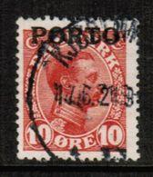 DENMARK  Scott # J 4 VF USED (Stamp Scan # 717) - Port Dû (Taxe)