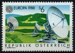 1988Austria1922Europa CEPT / Satellite Dish - 1988