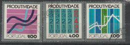 PORTUGAL CE AFINSA 1178/1180 - USADO - Used Stamps
