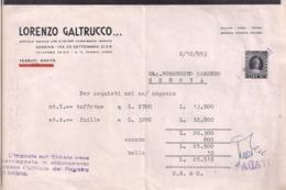 Italia - 1953 - Lorenzo Galtrucco - Marca Da Bollo - 10 Lire - A1RR2 - Espagne