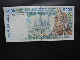 NIGER * : ÉTAT DE L'AFRIQUE DE L'OUEST : 5000 FRANCS   (20)02   P 613Hk     TTB - Niger