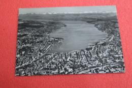Zurich Flugaufnahme Aereal View N. 692 Spedita Nel 1958 - ZH Zurich