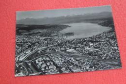 Zurich Flugaufnahme Aereal View 1955 - ZH Zurich