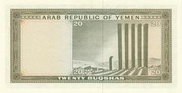 YEMEN ARAB  P. 5 20 B 1966 UNC - Jemen
