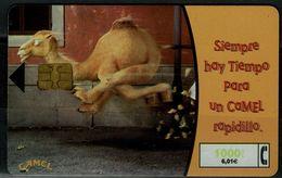 SPAIN 2001 PHONECARD CAMEL USED VF!! - Espagne