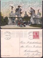 Deustchland - Postkarte - Deustches Reich - 1907 - Hamburgo - Carl-Hagenbeck's - Tierpark - Circulee - A1RR2 - Autres