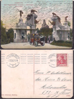 Deustchland - Postkarte - Deustches Reich - 1907 - Hamburgo - Carl-Hagenbeck's - Tierpark - Circulee - A1RR2 - Germany