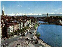 (G 21)  Switzerland / Suisse - Zürich - Limmatquai - ZH Zurich