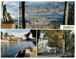 (G 21)  Switzerland / Suisse - Zürich - 4 Views - ZH Zurich