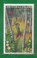 4 Christmas-Australia 1999 Yvert 415 Ss Mint TT: Golf,Deportes Cotiz. Yvert € 8.00 - Christmas Island