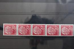 BRD 185y R ** Postfrisch Als 5er-Streifen Nr. 885 Rollenmarke #SB328 - [7] Federal Republic