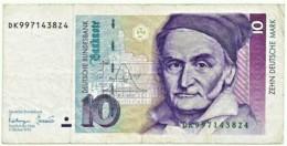 Germany - Federal Republic - 10 Deutsche Mark - 01.10.1993 - Pick: 38.c - [ 7] 1949-… : RFD - Rep. Fed. Duitsland